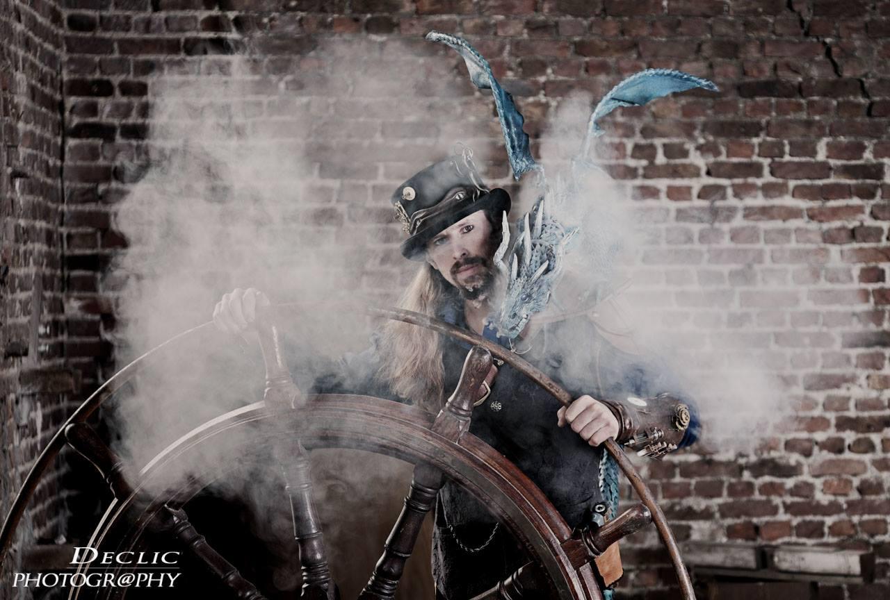 Steampunk Dragon Smoke