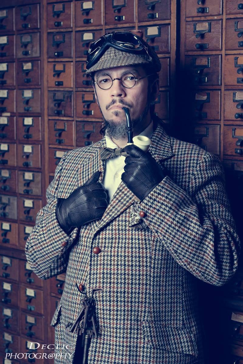 Steampunk Sherlock Holmes