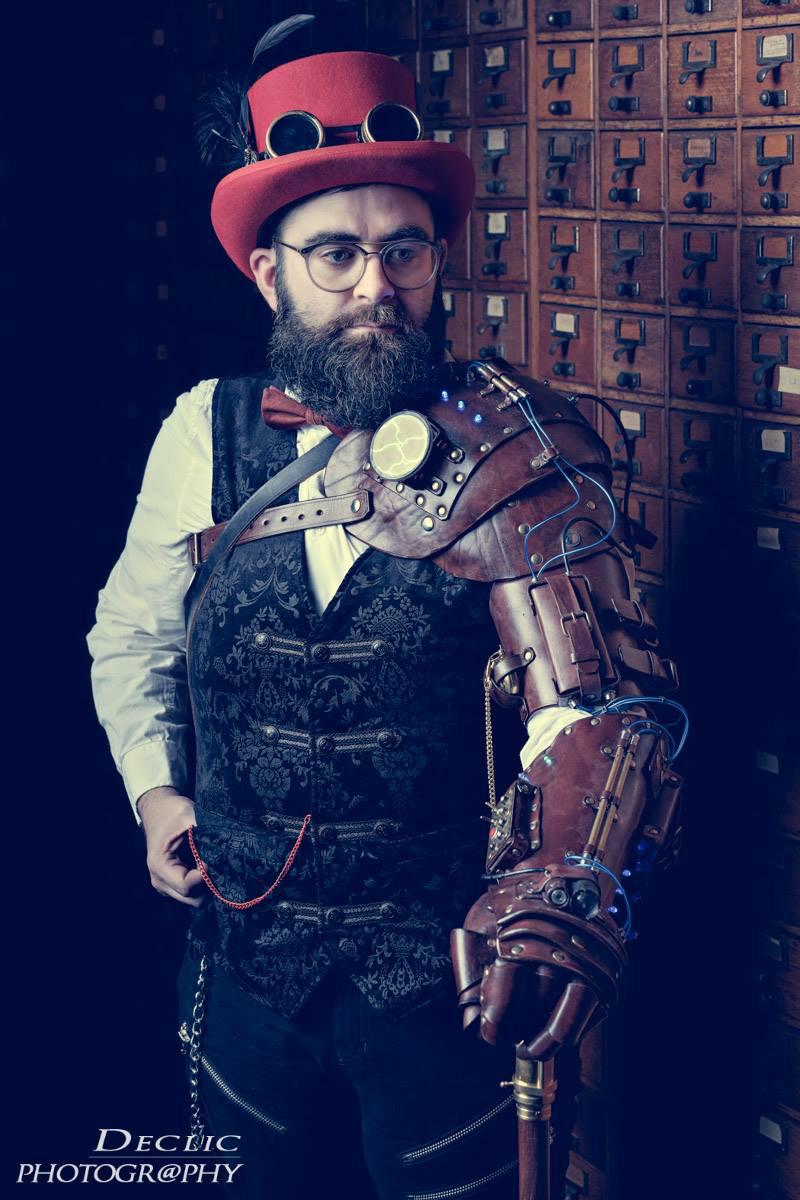 Steampunk Top Hat Gentleman
