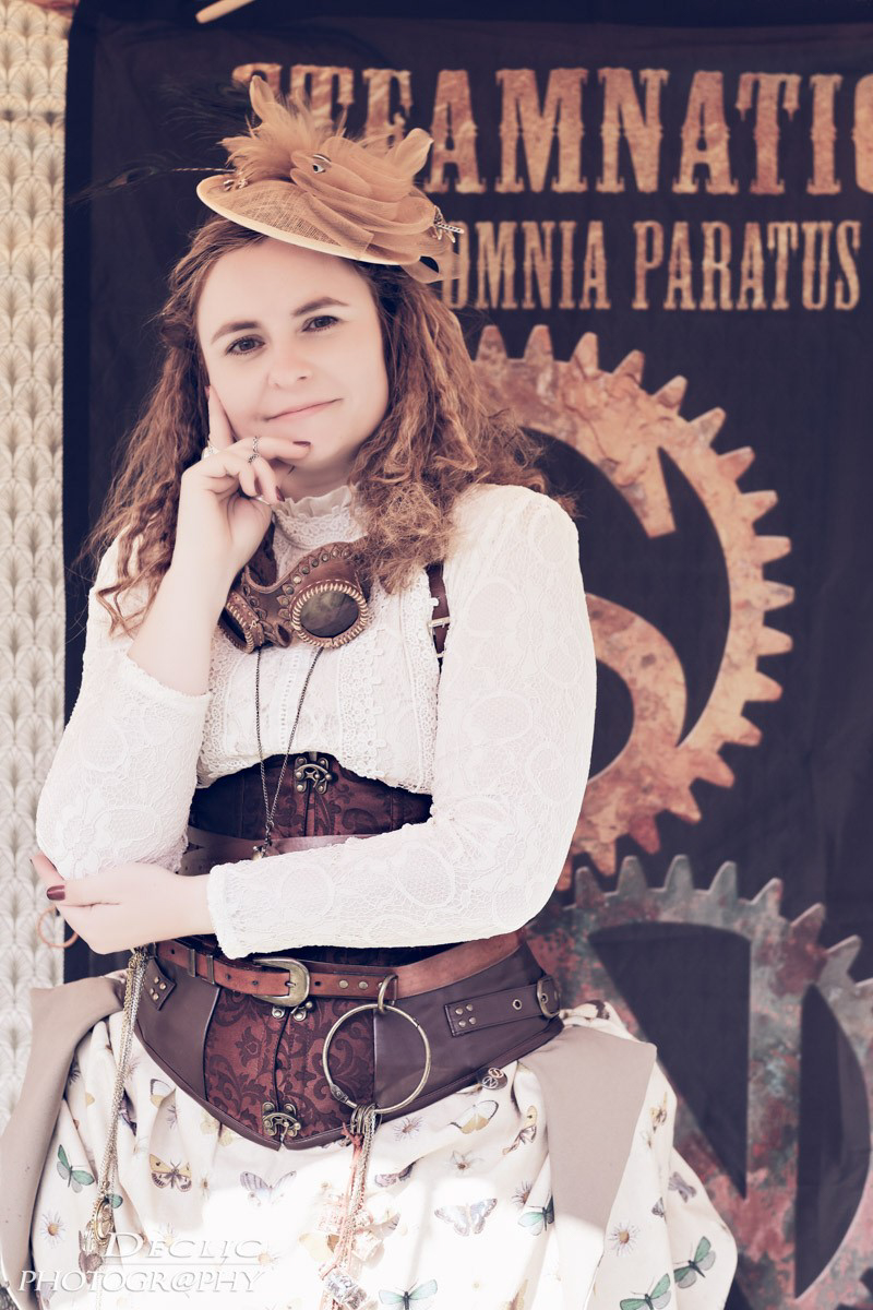 Steampunk Girl Portrait