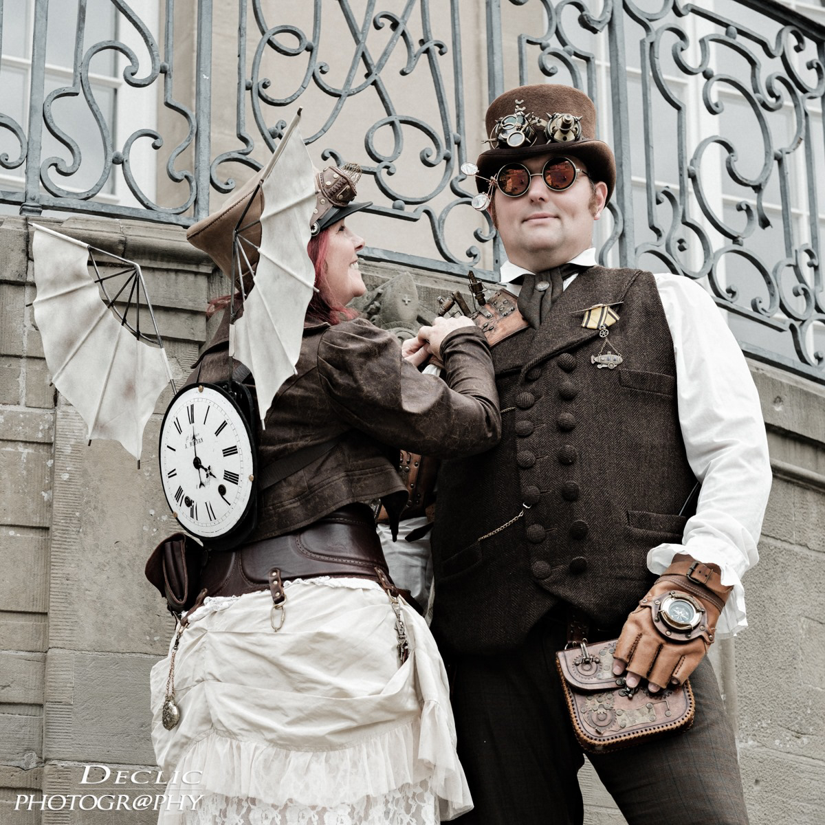 Steampunk Ailes Couple