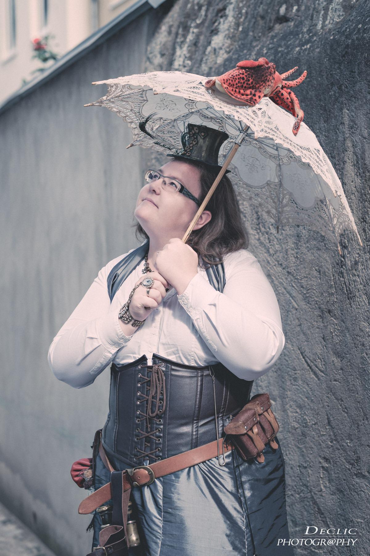 Steampunk Lady pieuvre