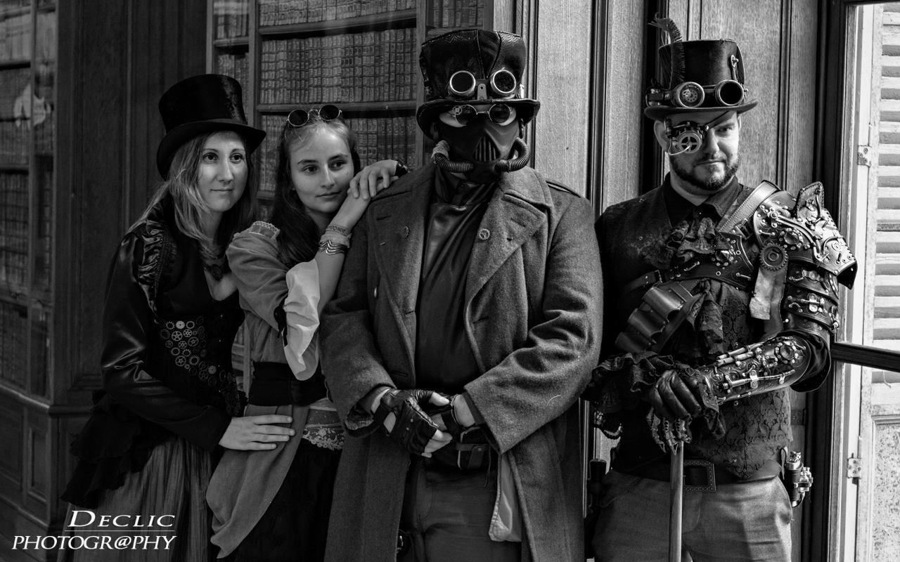 Steampunk Castel groupe