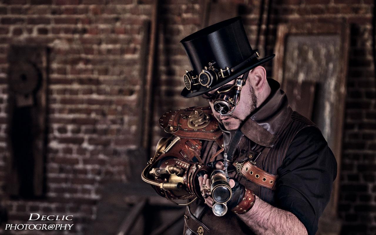 Steampunk Top Hat Gun