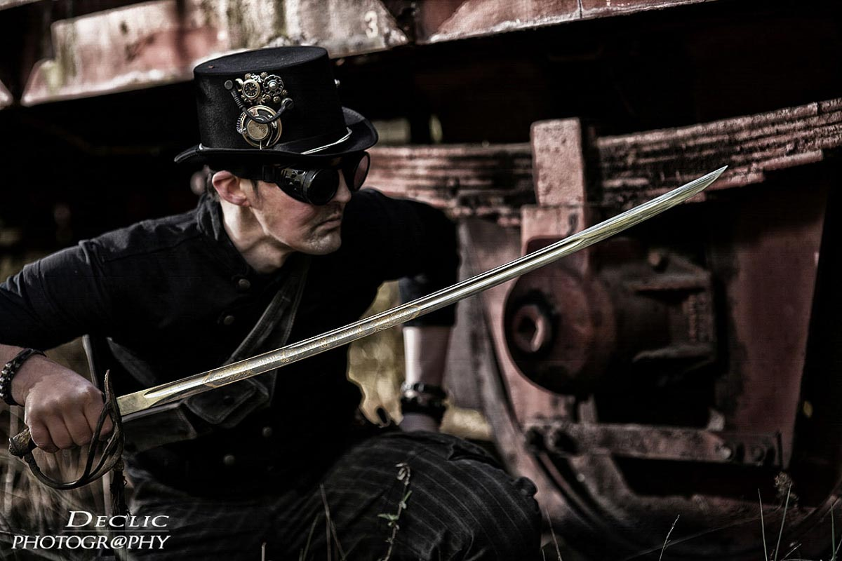 Steampunk Sabre Capitain