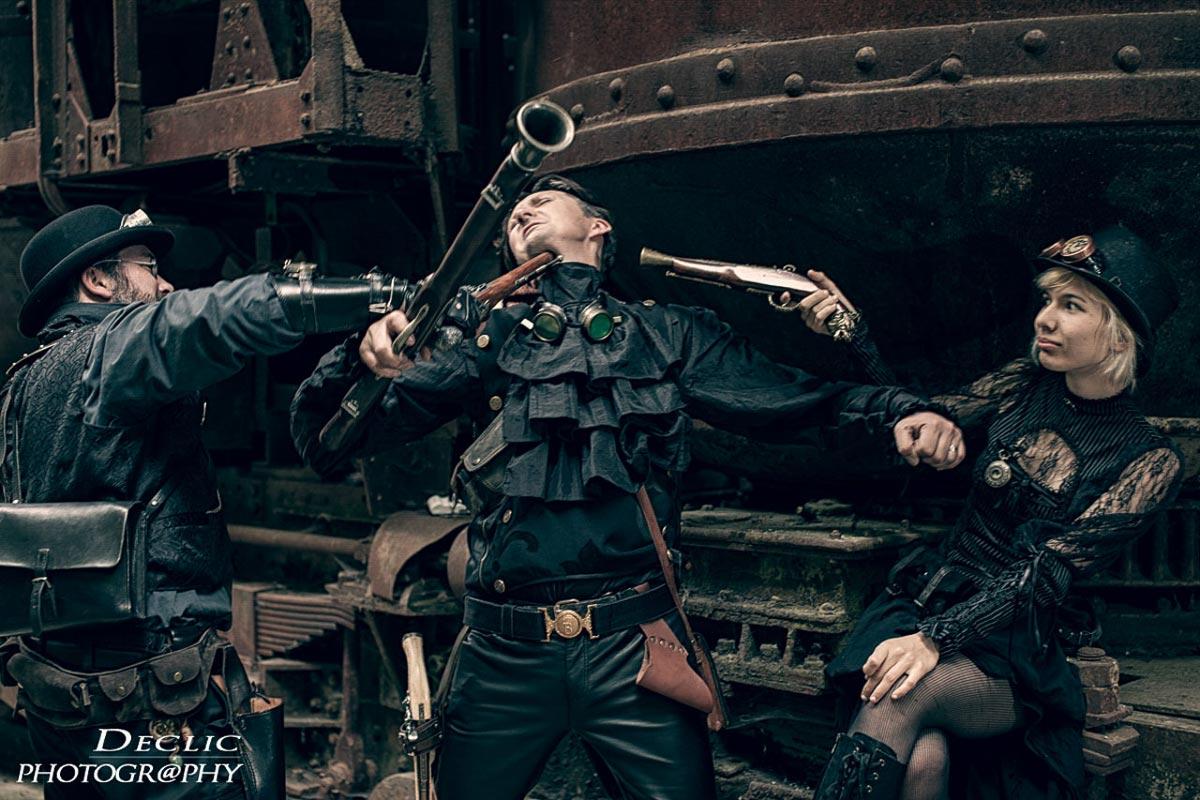Steampunk Gun Trio