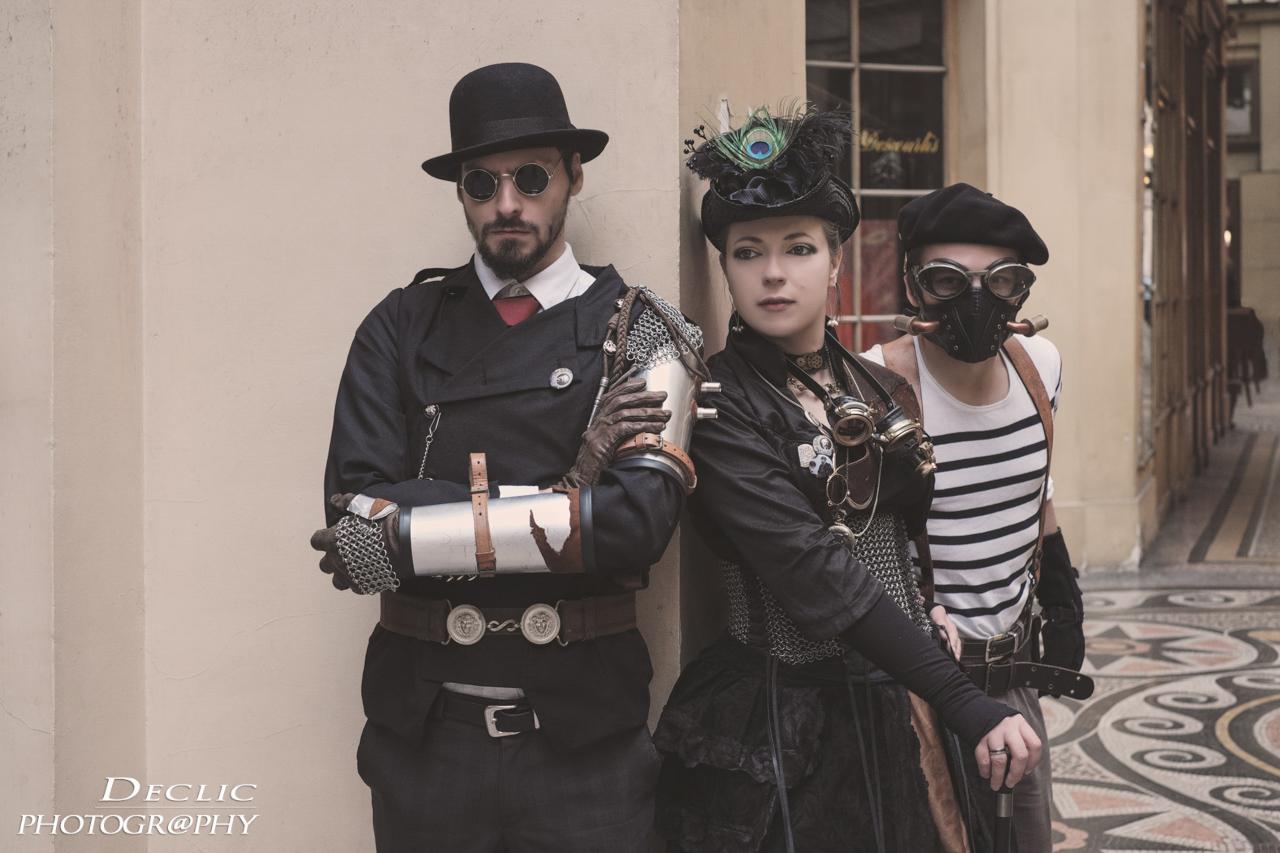 Steampunk Trio - Paris