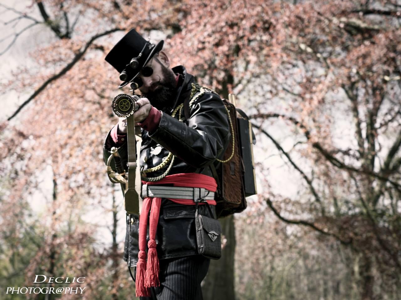 Steampunk Gentleman Baron TopHat