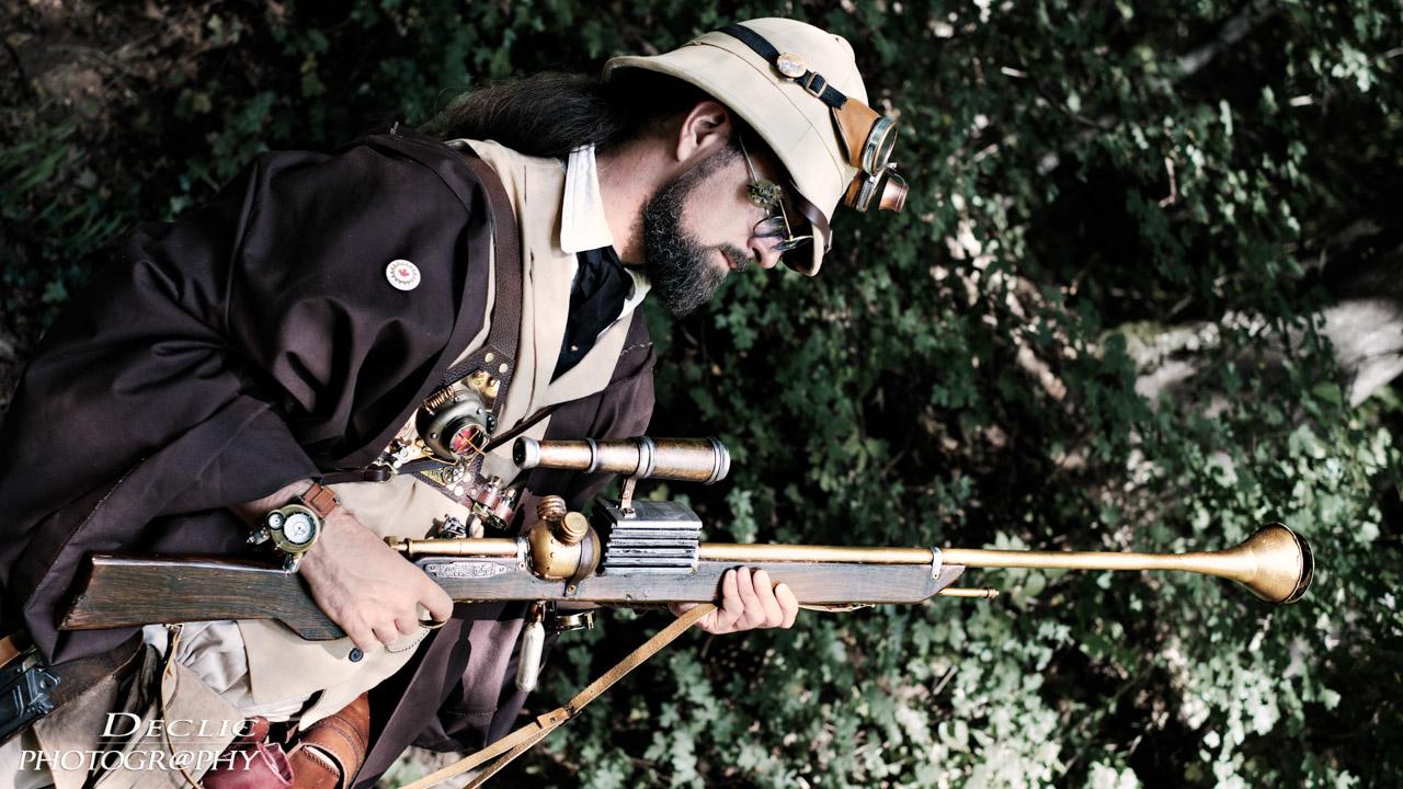 Steampunk Safari avec Big Gun