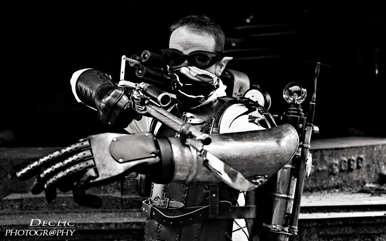Steampunk bras mécanique