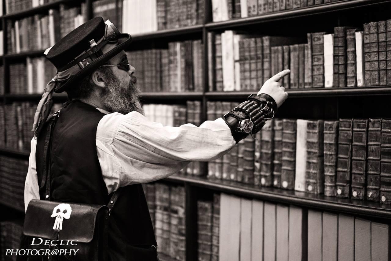 Art book Steampunk bibliotheque