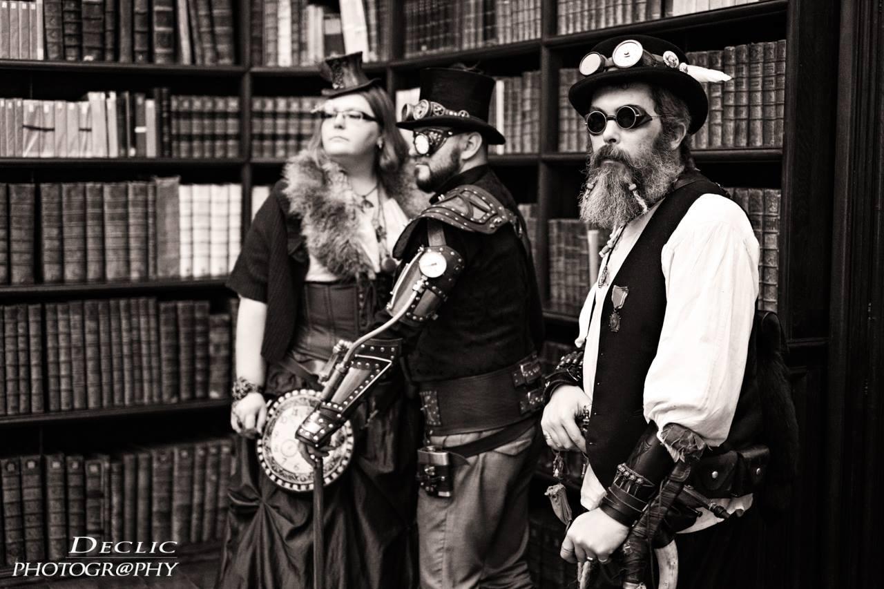Steampunk bibliotheque