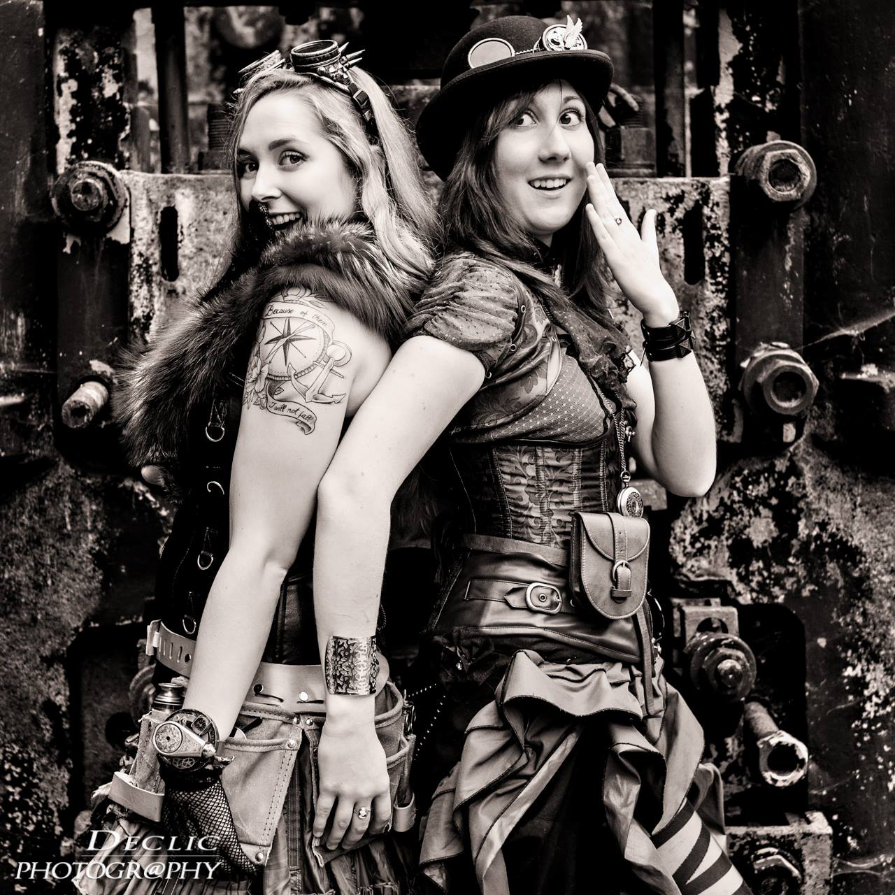 Steampunk Duo Lady