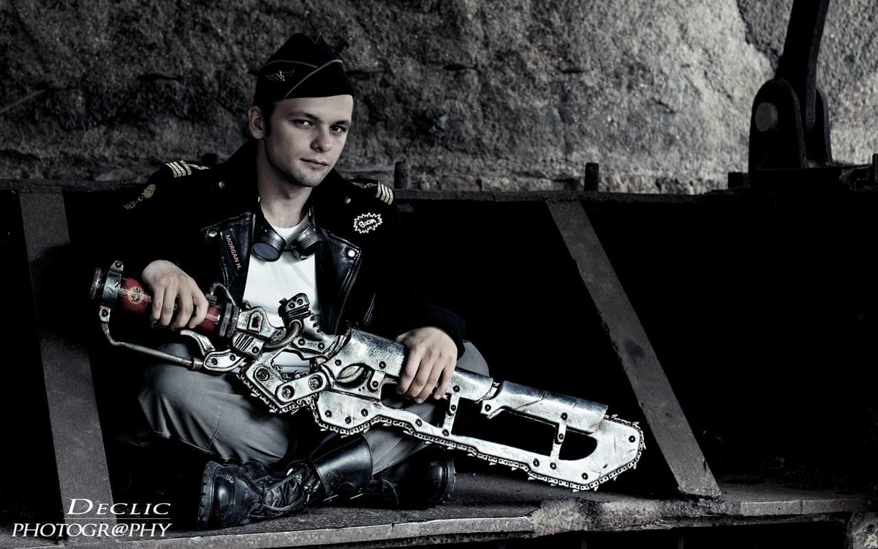 Steampunk Big Gun