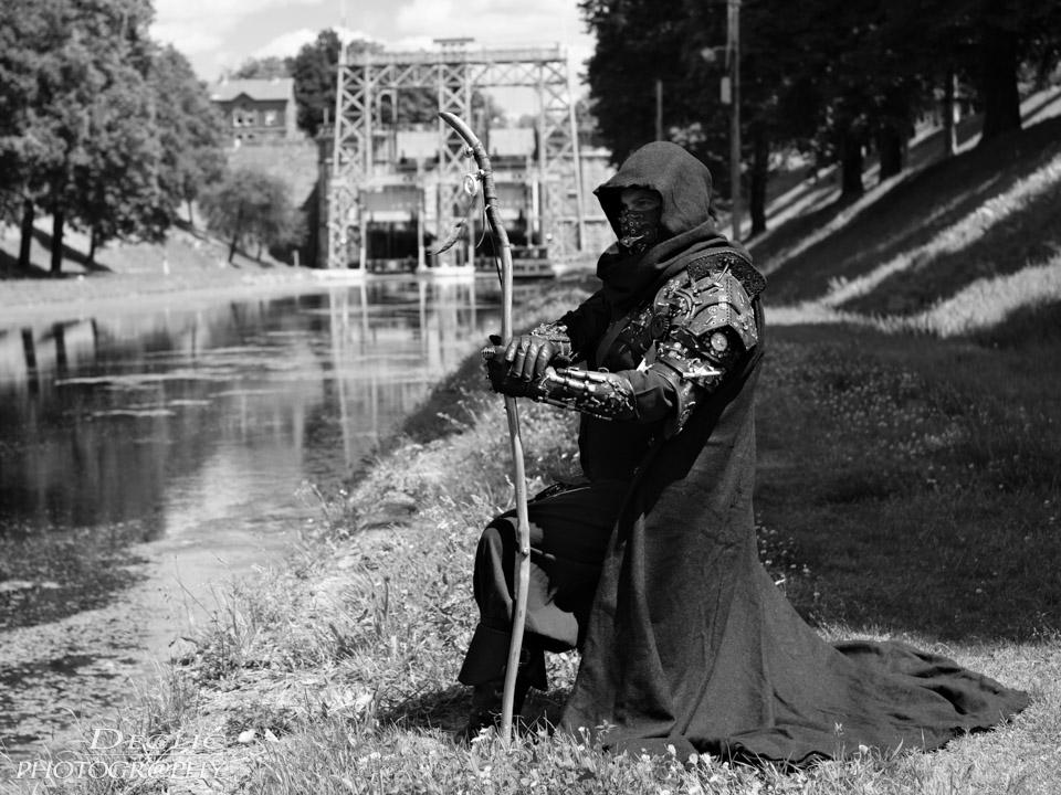 Ascenceur du canal du centre Steampunk