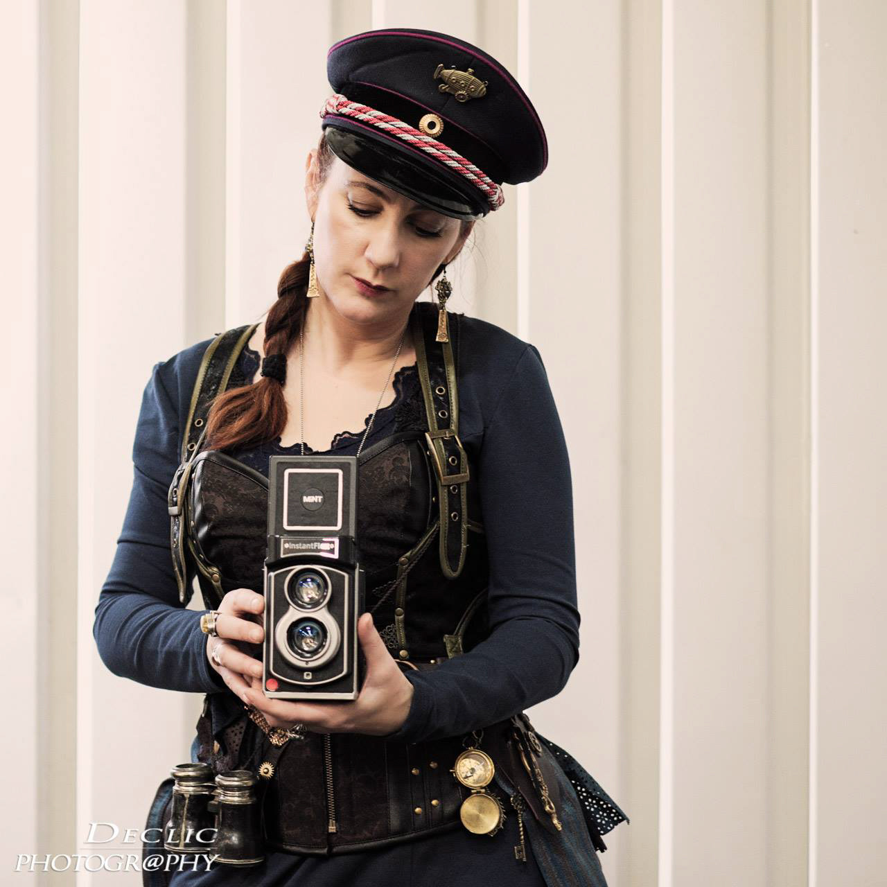 Steampunk Girl Photographer