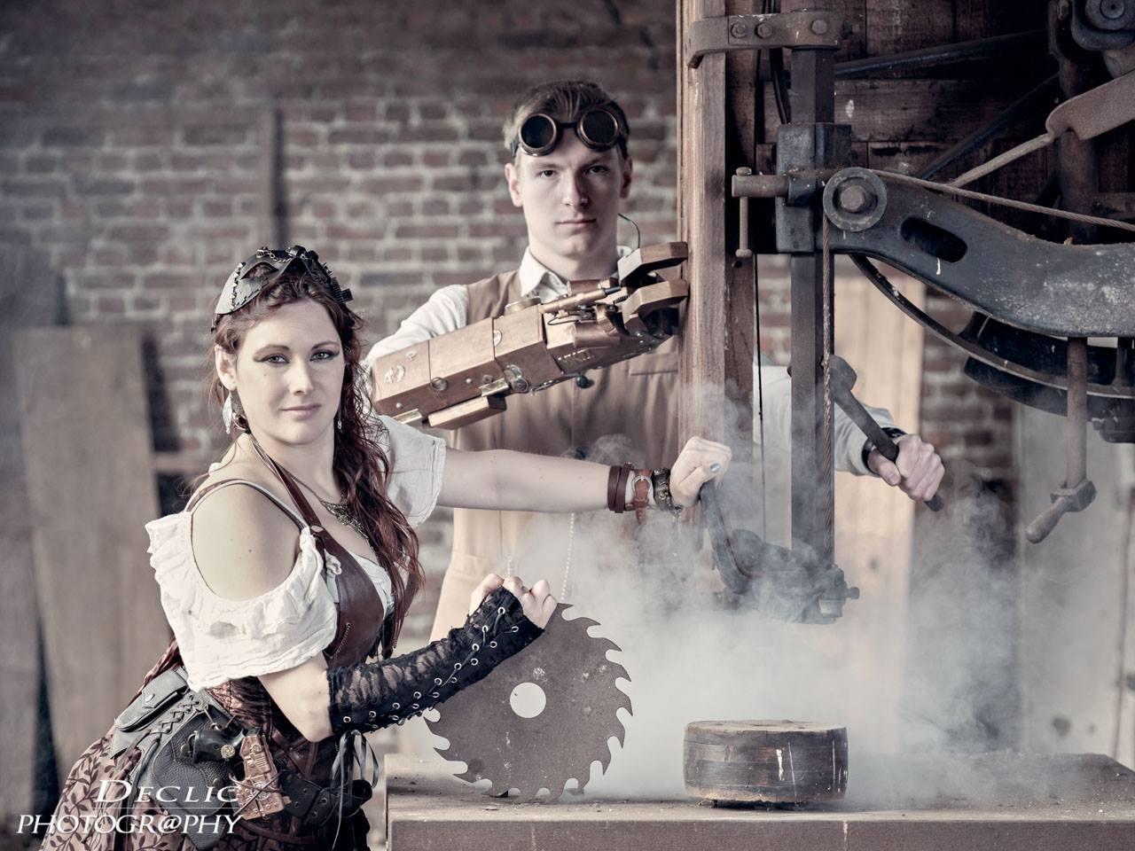 Steampunk Mecanique Girl