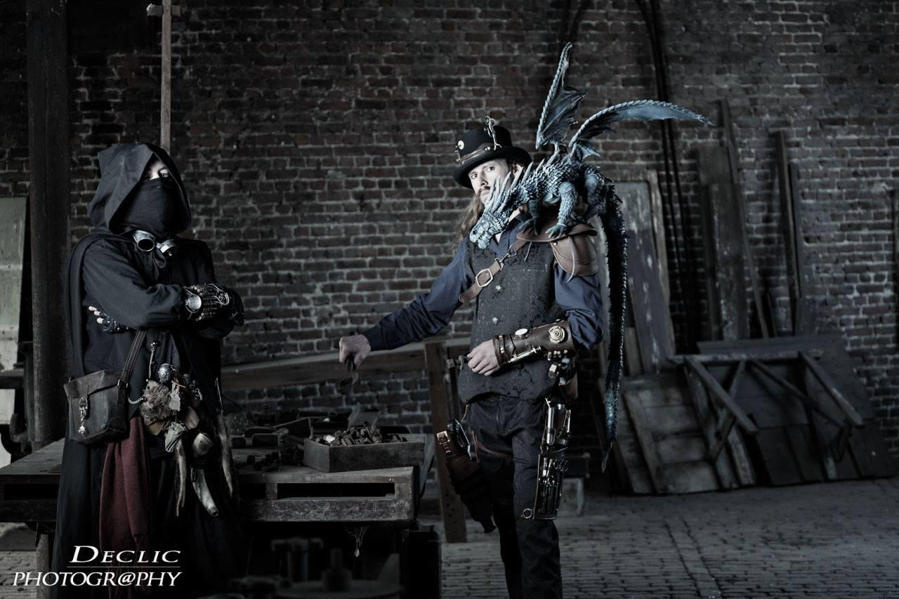 Steampunk Druide Dragon