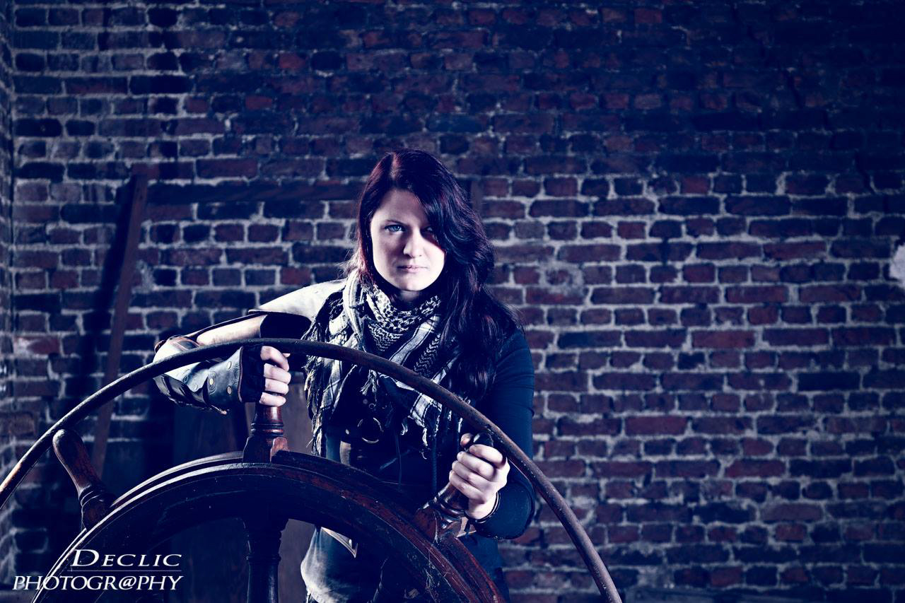 Steampunk Girl Pirate
