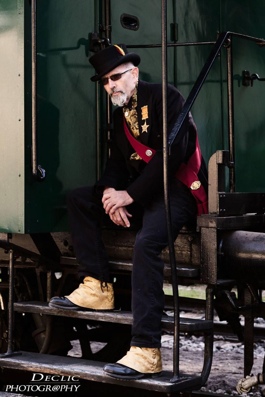 Steampunk Gentleman Quebecois