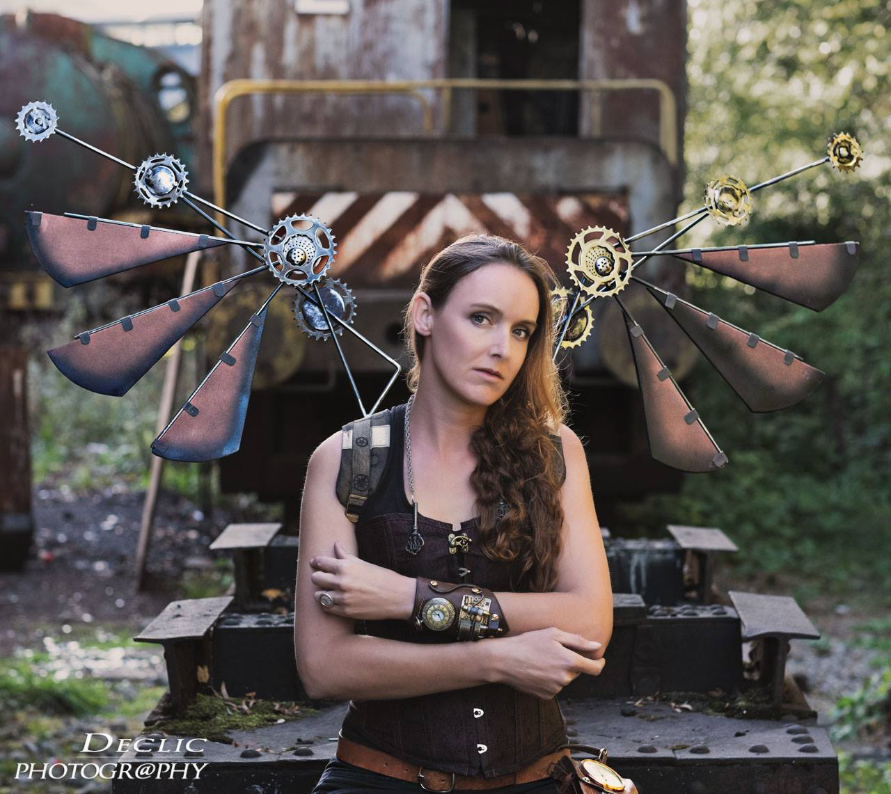Steampunk Girl Ailes