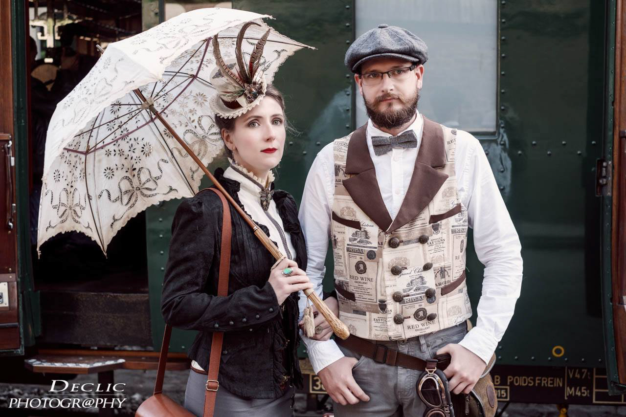 Steampunk Girl Gentleman