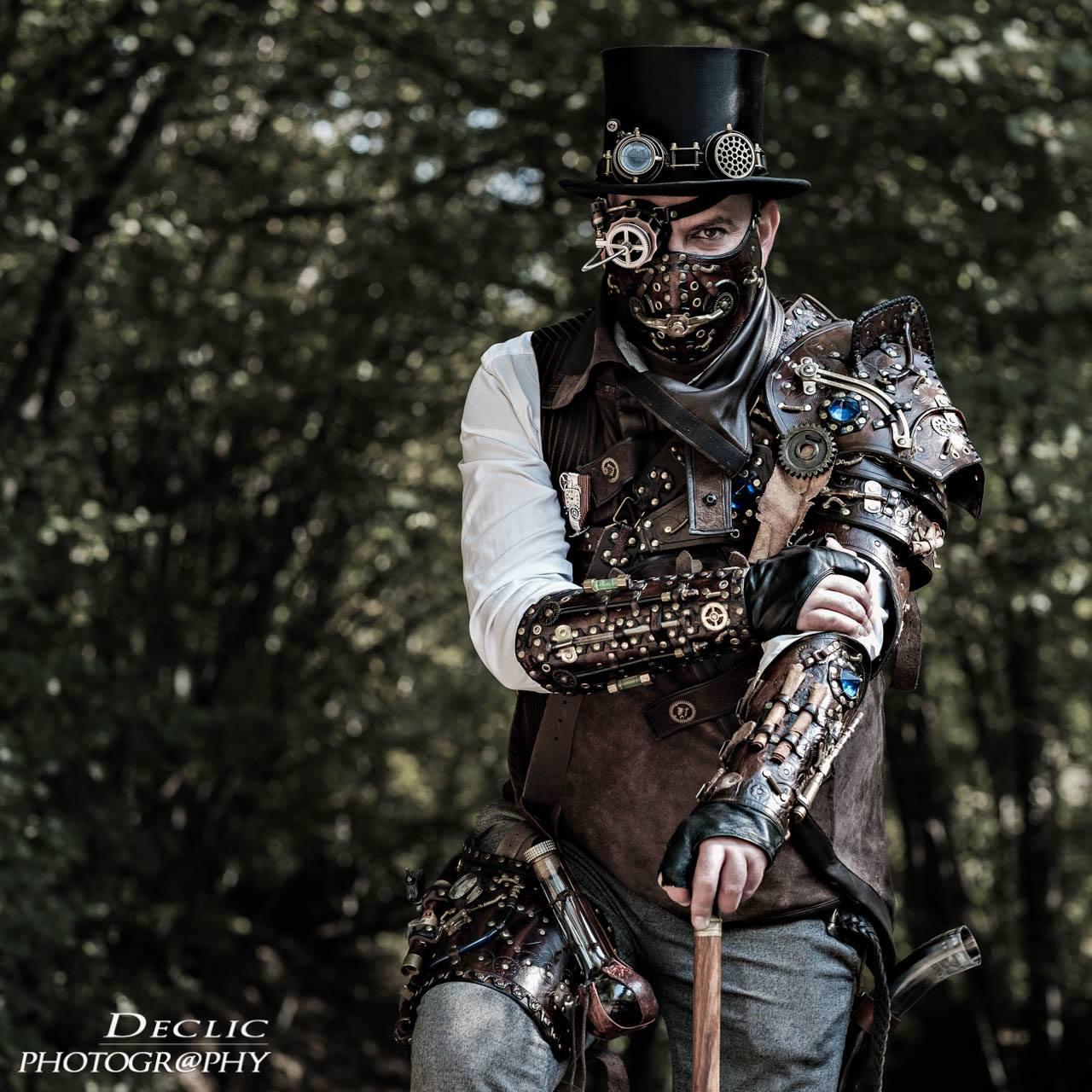 Steampunk Druide