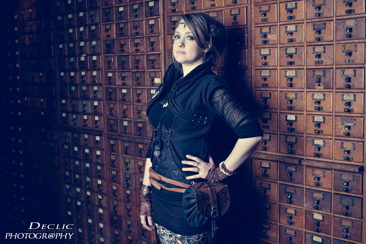 Steampunk Girl Artisan