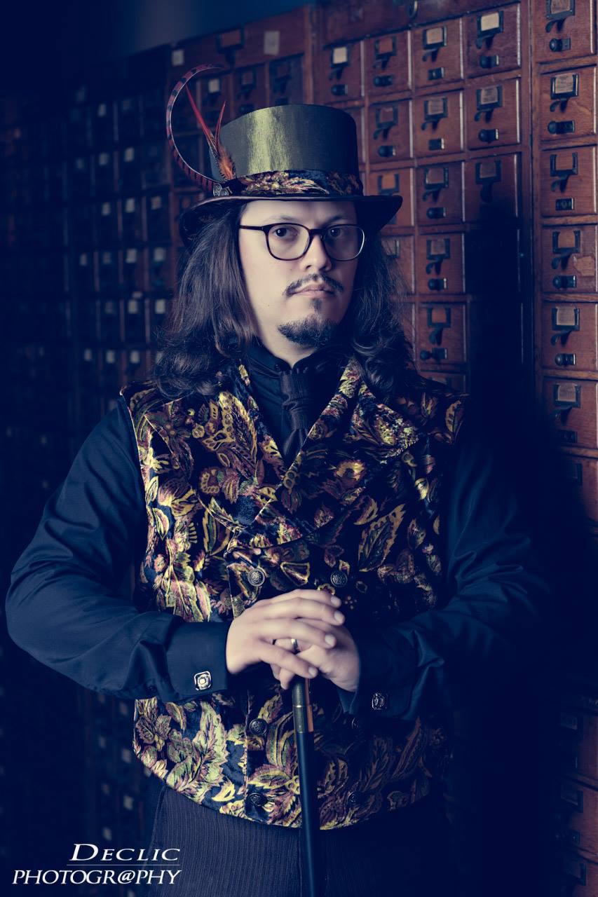 Steampunk Gentleman Top Hat