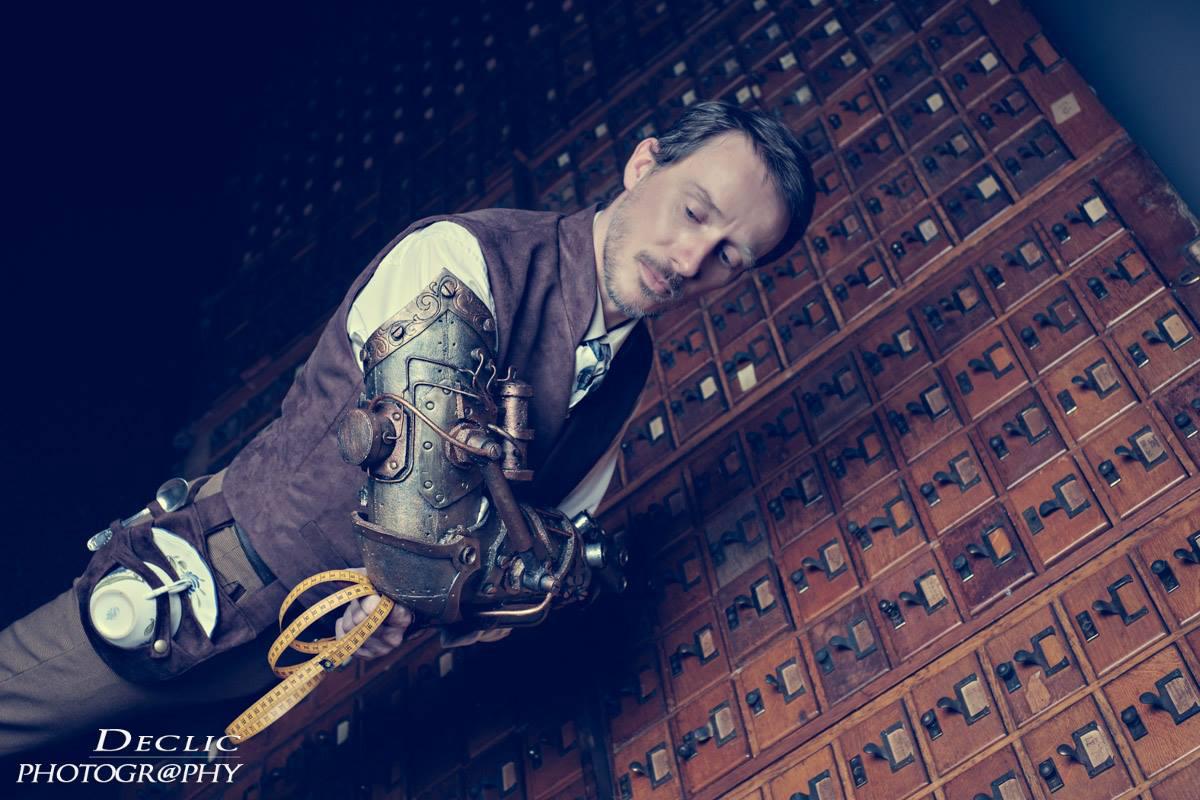 Steampunk Gentleman tailleur homme