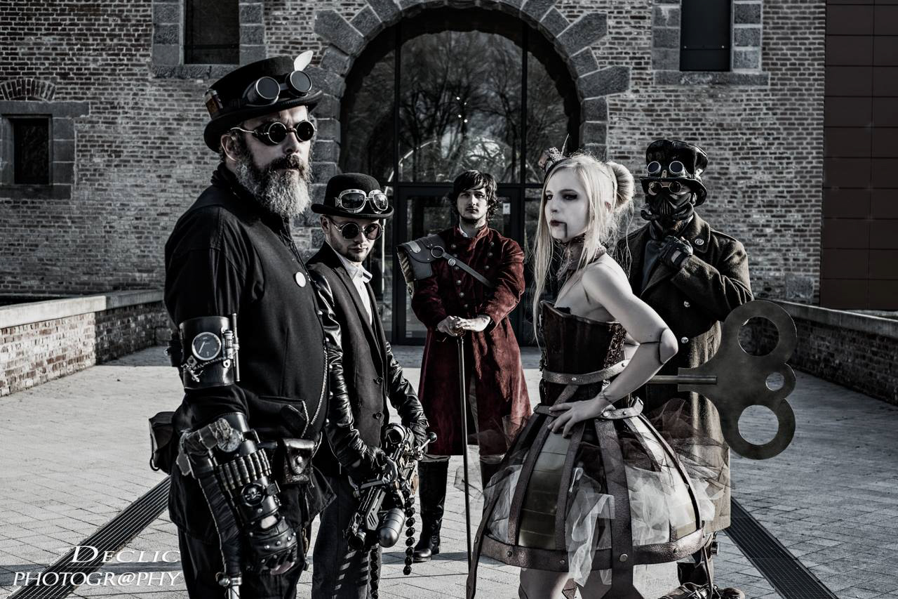 Steampunk Family Groupe