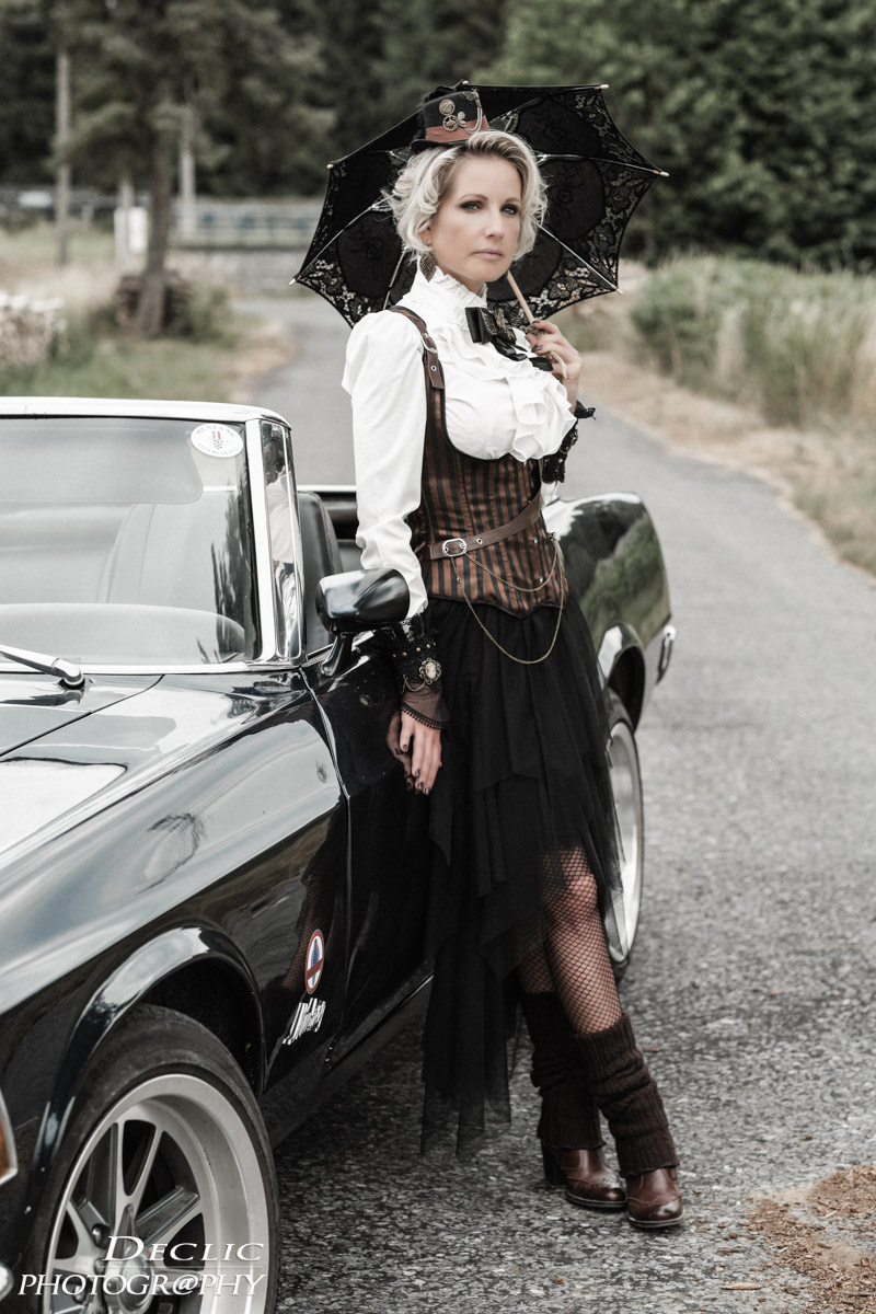 Steampunk Old Car Mustang