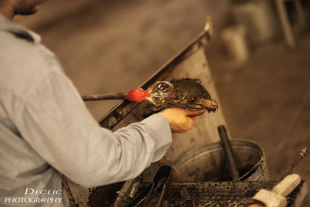 Atelier artisan verrier