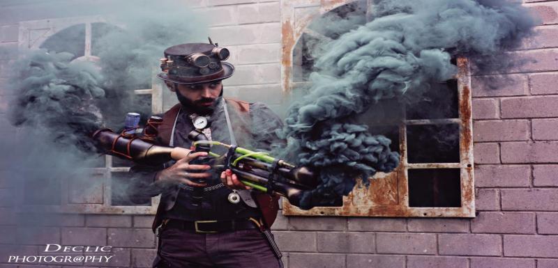 portrait Steampunk Declic Photography